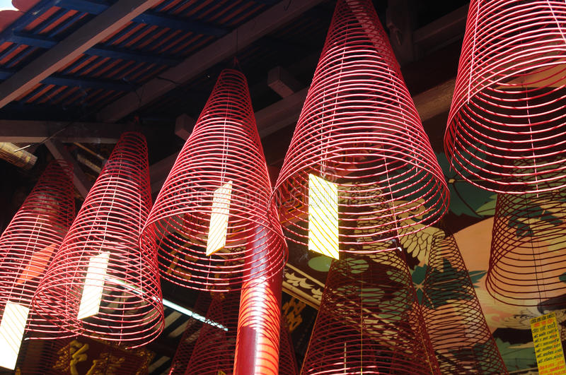 Download Temple Incense stock image. Image of vietnam, cultural - 20694473