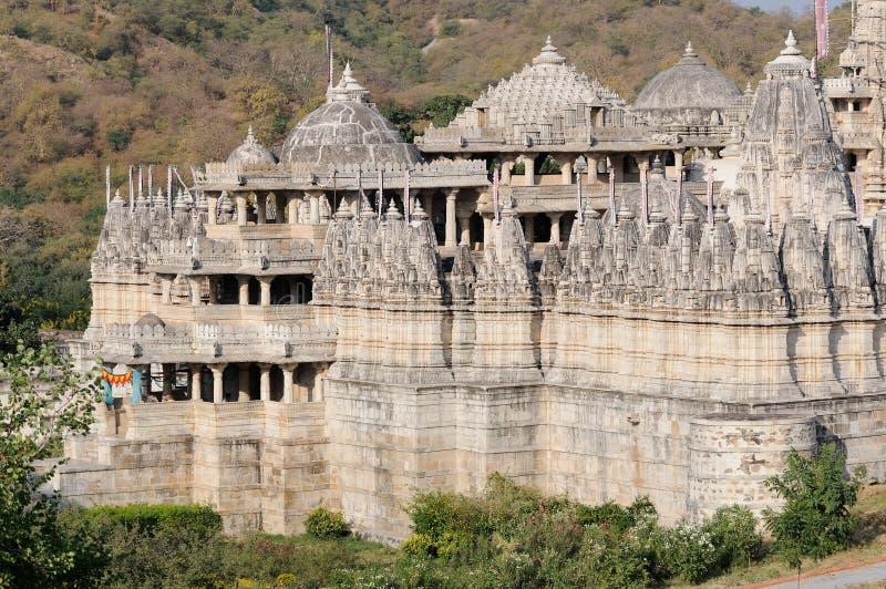 Temple Inde de Ranakpur photos libres de droits