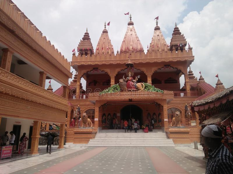 Temple of India. It`s a temple and It`s situated in Uttar Pradesh royalty free stock photography