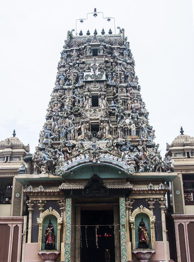Temple indien avec la belle architecture photo stock
