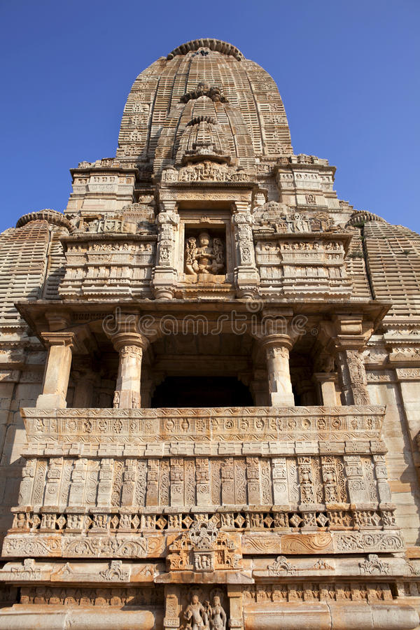 Temple indien Chittorgarh - en Inde photos libres de droits