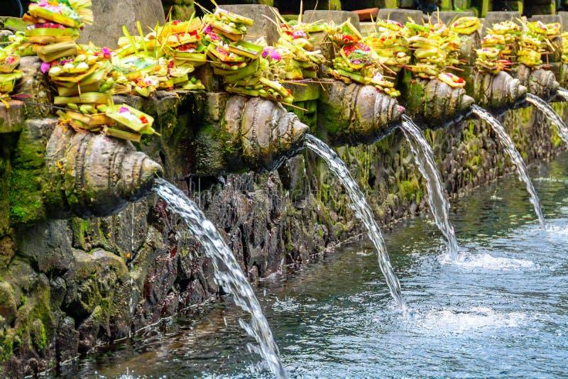 Temple indou de l'eau image libre de droits