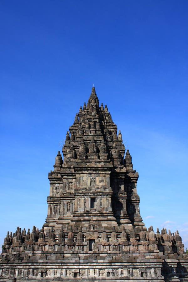 Temple indou de Prambanan photos stock