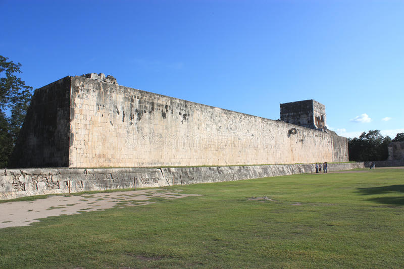 Temple of jaguar at great ball court