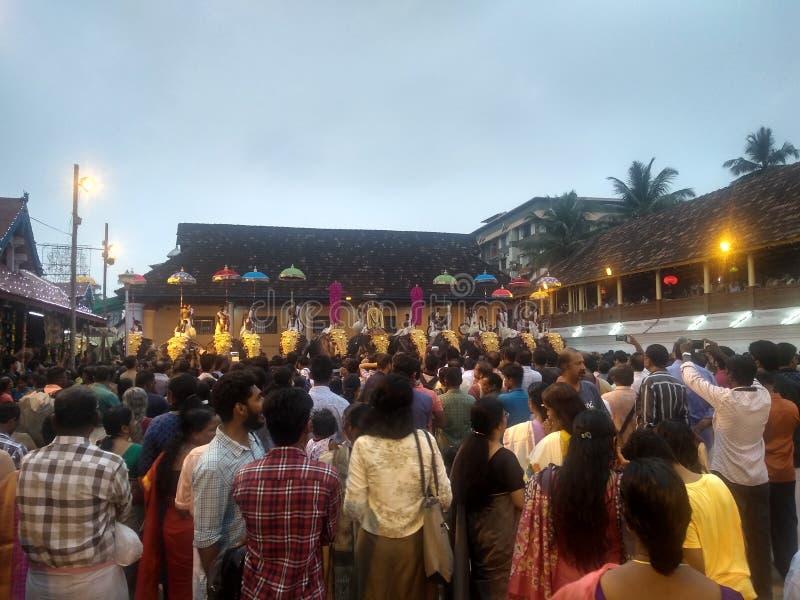 Temple Kerala juste photographie stock libre de droits