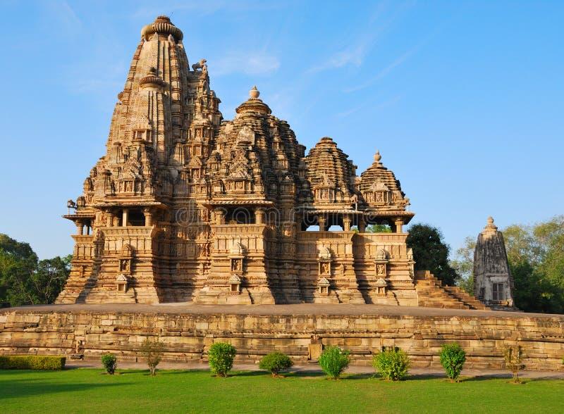 Temple in Khajuraho India stock photos