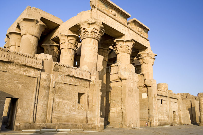 Temple of Kom Ombo royalty free stock photography