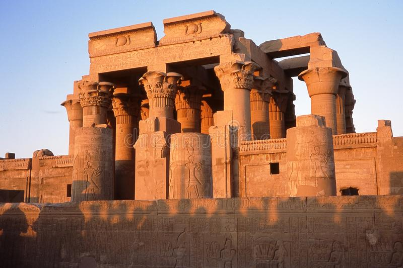 Temple of Kom Ombo. royalty free stock photography