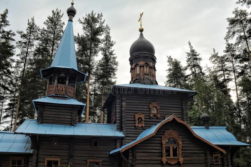 Temple of the Konevskaya Icon of the Mother of God royalty free stock images