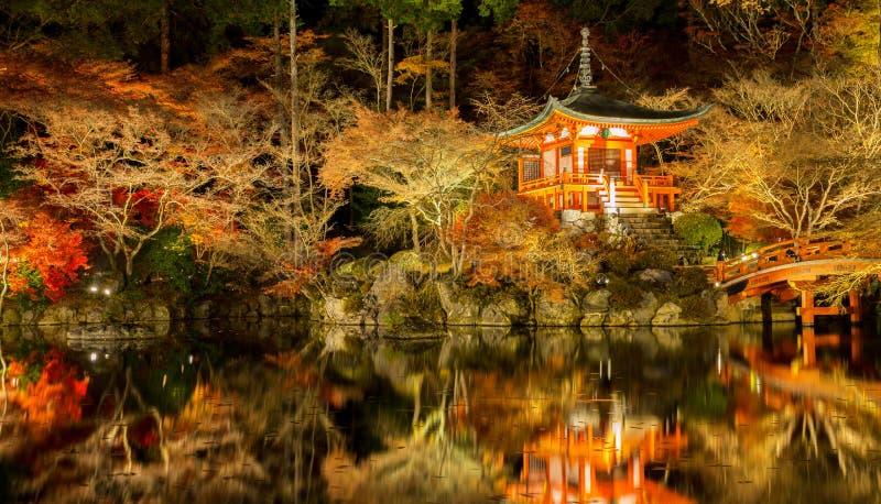 Temple Kyoto de Daigoji photos libres de droits