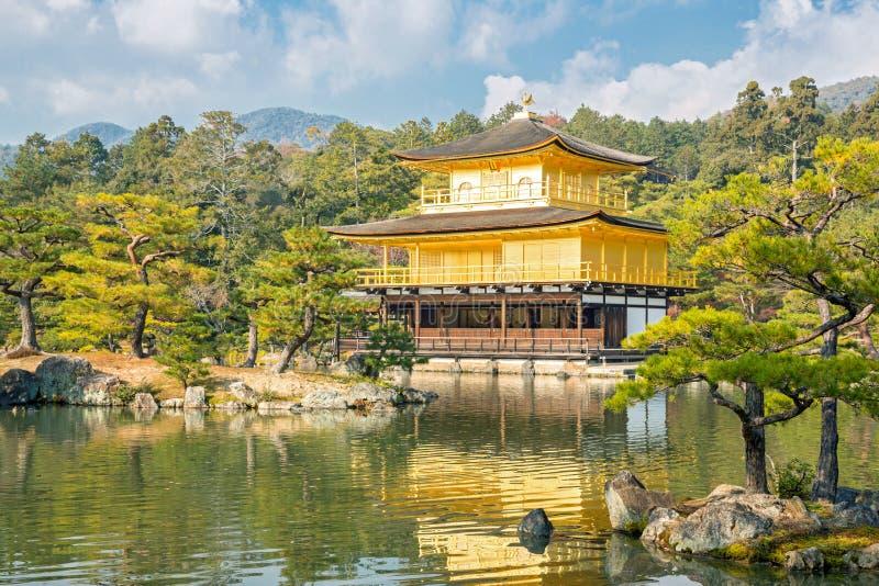 Temple Kyoto de Kinkakuji images libres de droits