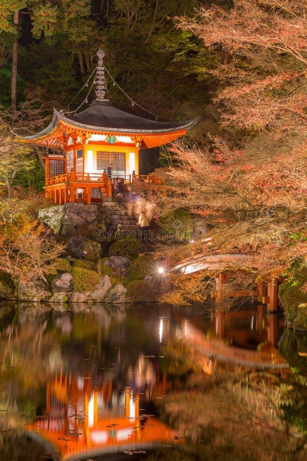 Temple Kyoto Japon de Daigoji photos stock