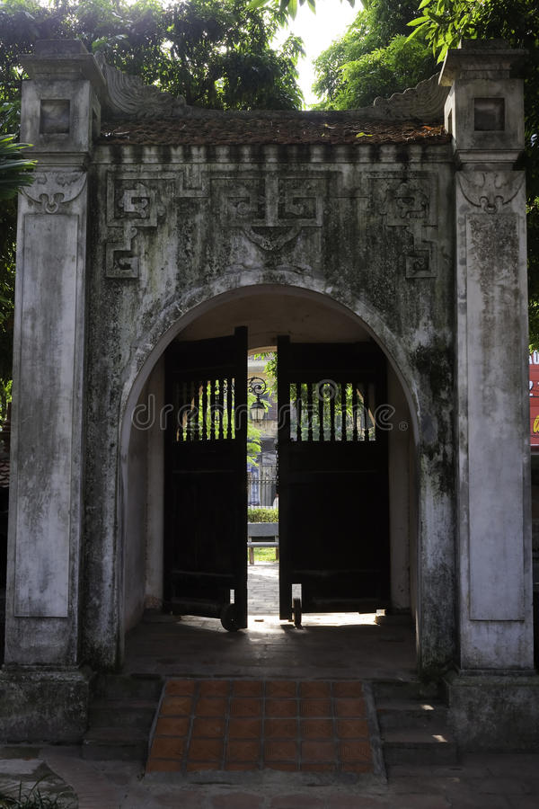 Download Temple of Literature stock image. Image of sanctuary - 14874199
