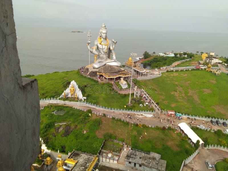 Temple Mangalore Karnataka du nord de Murudeshwara photographie stock