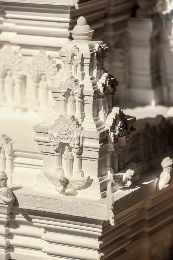 Temple model royalty free stock photography