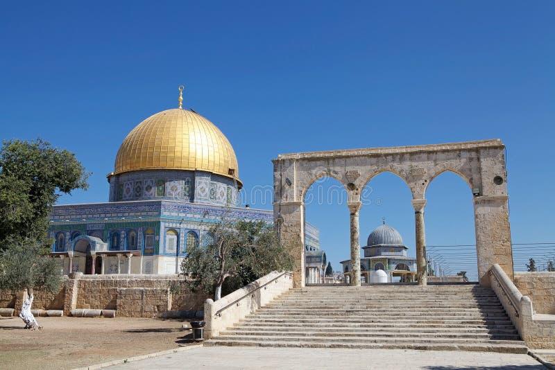 Temple Mount imagem de stock