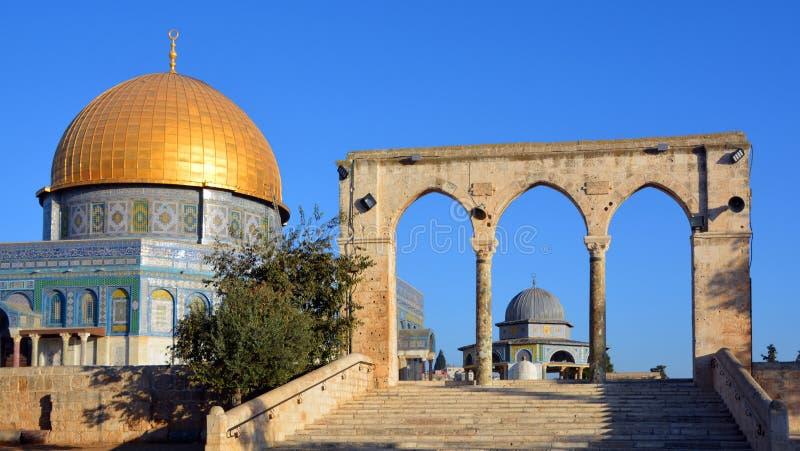 Temple Mount fotografia stock