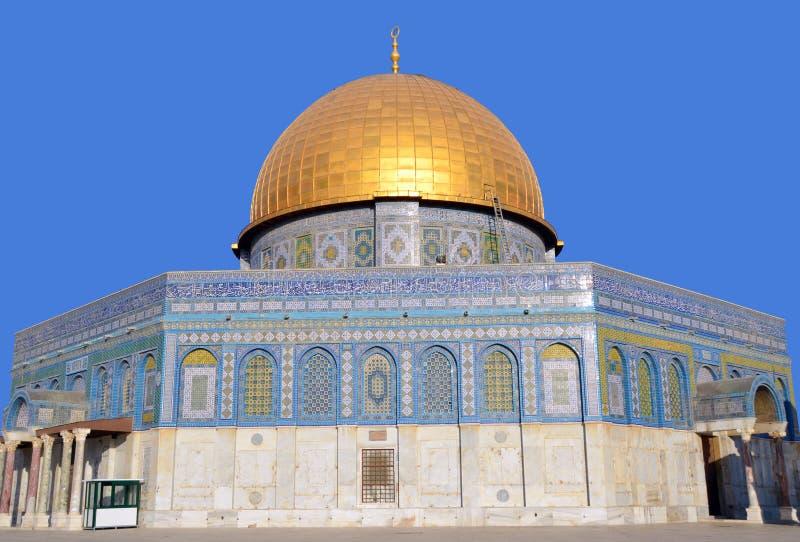 Temple Mount, abóbada fotos de stock royalty free