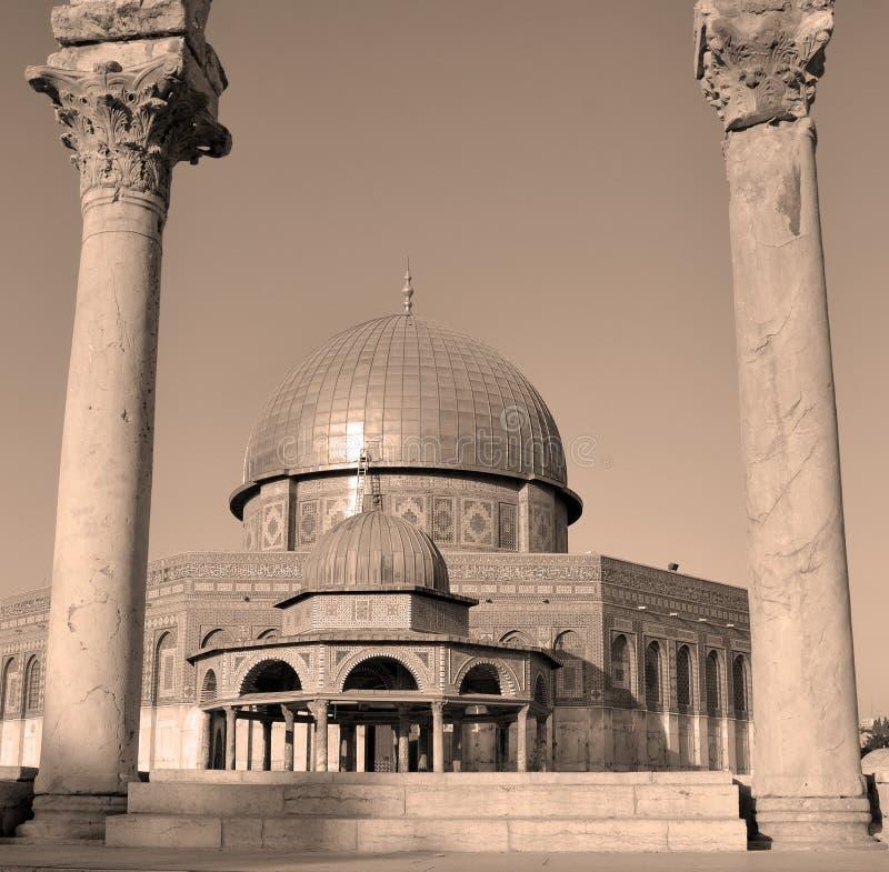 Temple Mount, abóbada foto de stock