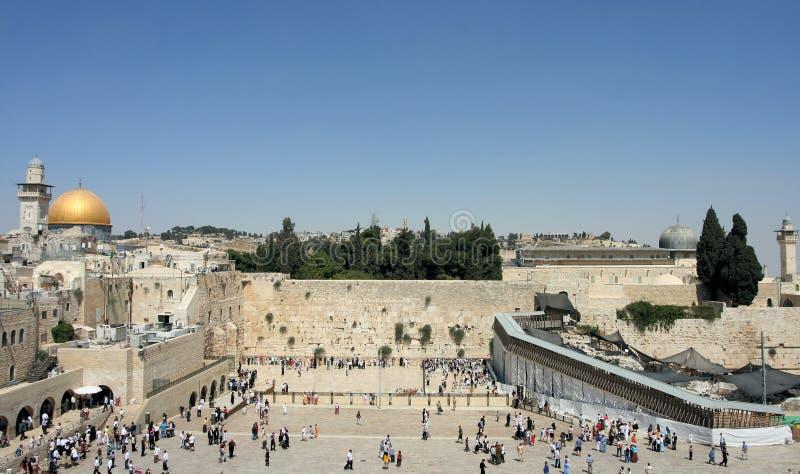 The Temple Mount in Jerusalem stock photos