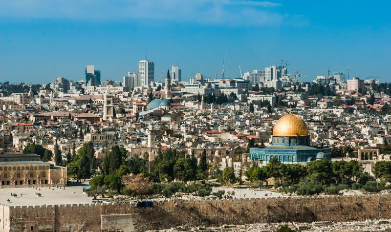 The Temple Mount, Jerusalem, Israel royalty free stock image