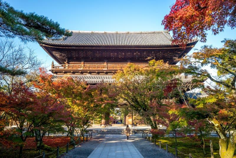 Temple Nanzenji ou Zenrinji, Kyoto, Japon de Nanzen photo libre de droits