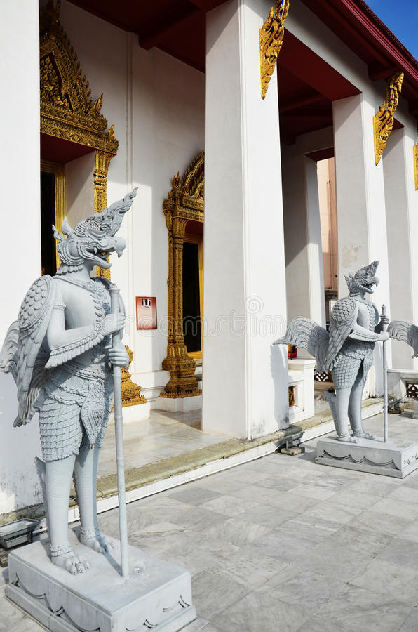 Temple in National Museum Bangkok Thailand. Bangkok is home to an extensive and very informative National Museum, which claims to be the largest of it's kind in stock photo