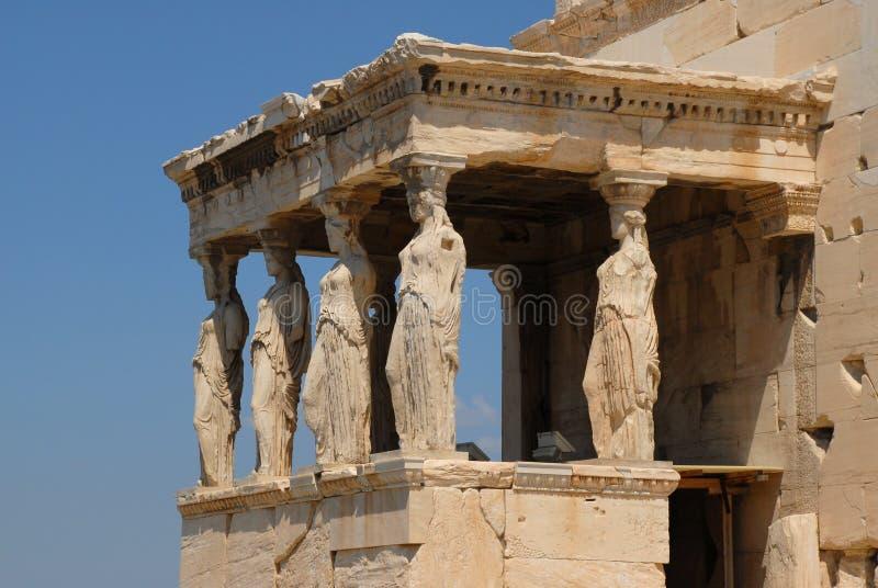 Temple nike à Athènes Grèce photos libres de droits