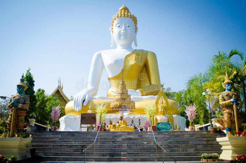 Temple North of Thailand royalty free stock photography