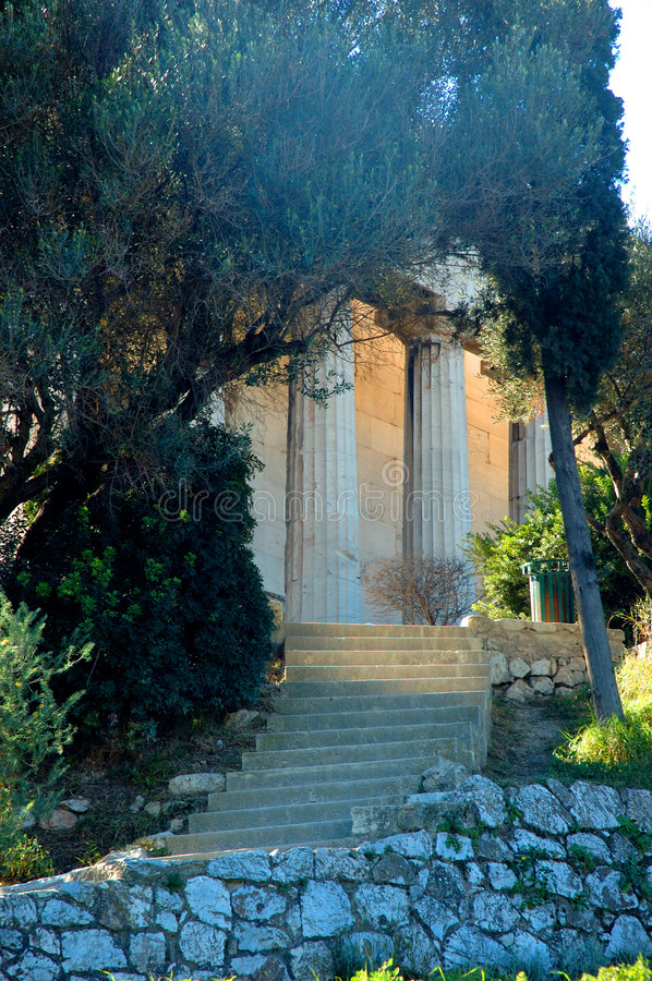 Free Temple Of Hephaestus In Athens 2 - Greece Royalty Free Stock Image - 1920256