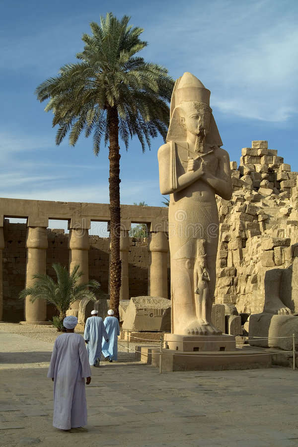 Free Temple Of Karnak Royalty Free Stock Photography - 9154517