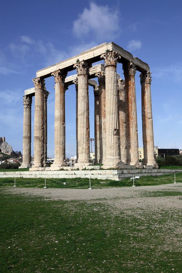 Free Temple Of Olympian Zeus Royalty Free Stock Photo - 14086015