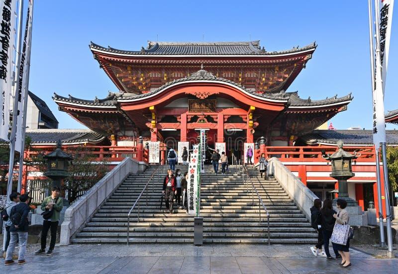 Temple Osu Kannon, Nagoya, Japon image stock