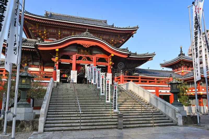 Temple Osu Kannon, Nagoya, Japon photographie stock libre de droits