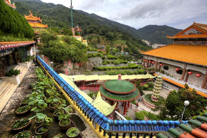 Download Temple In Penang Hilltop, Malaysia Stock Image - Image: 12738169