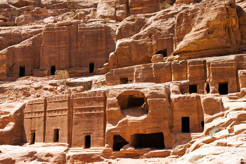 Download Temple of Petra stock photo. Image of landmark, historic - 22970958