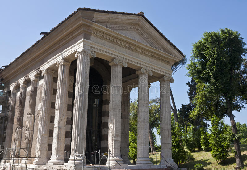 Temple Of Portunus Stock Image