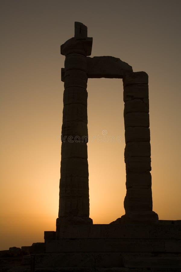 Download Temple Of Poseidon, Cape Sounion, Greece Stock Image - Image: 15831823