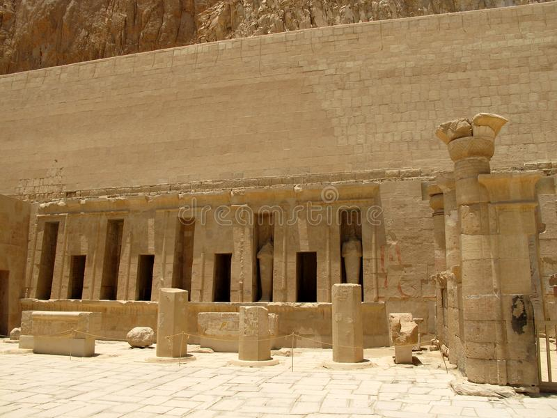 Temple of Queen Hatshepsup. Historical monuments of antiquity stock photos