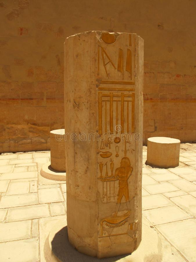 Temple of Queen Hatshepsup. Historical monuments of antiquity royalty free stock photos