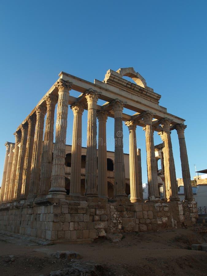 Temple romain Diane photographie stock