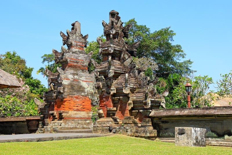 Temple royal de Tamun Ayun - Bali image libre de droits
