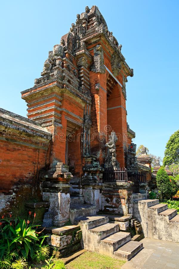 Temple royal de Tamun Ayun - Bali photographie stock libre de droits