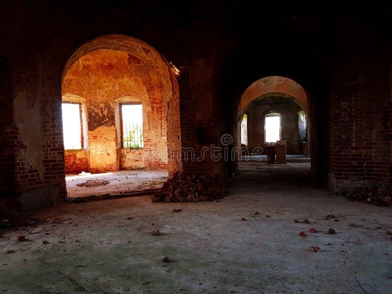 Temple ruiné photo libre de droits