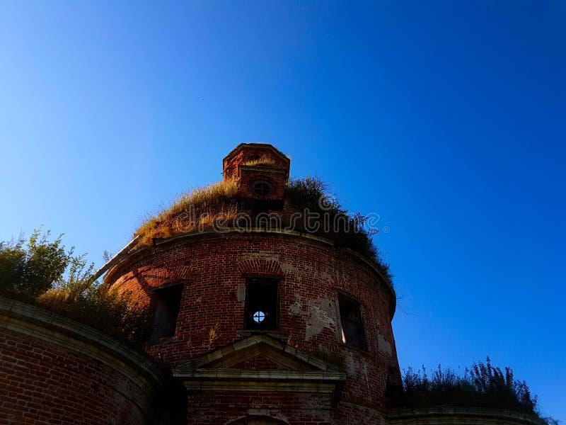 Temple ruiné photographie stock