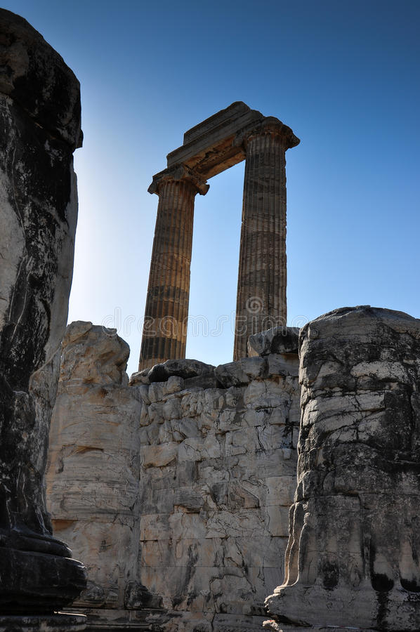Download Temple Ruin Columns stock photo. Image of detail, temple - 33515450