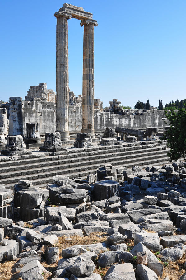 Download Temple Ruins stock photo. Image of architecture, column - 33514890