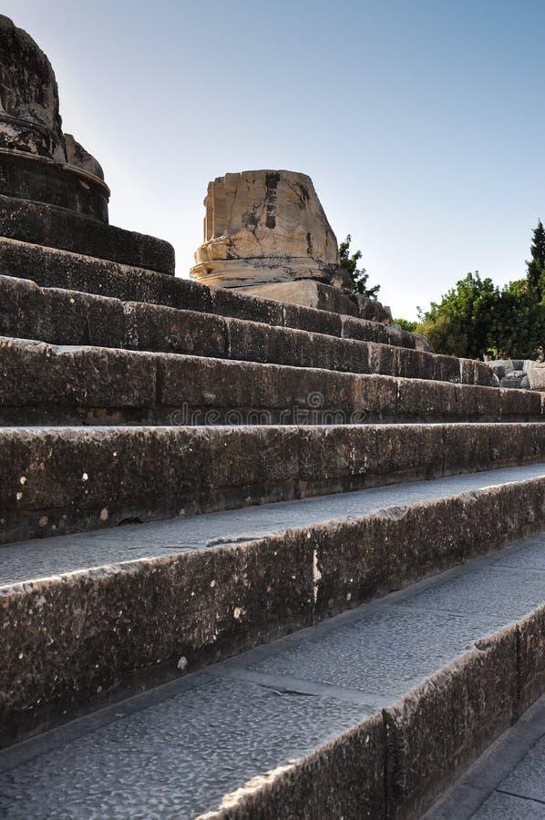 Download Temple Ruins stock image. Image of steps, blue, greek - 33515325