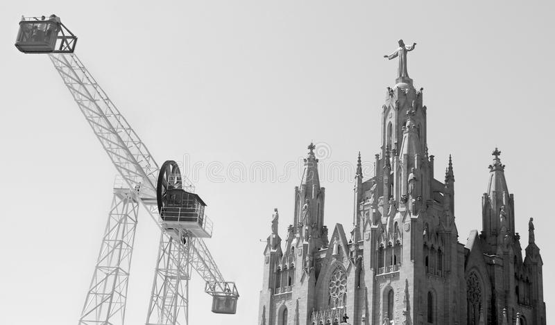 Temple of the Sacred Heart of Jesus royalty free stock images