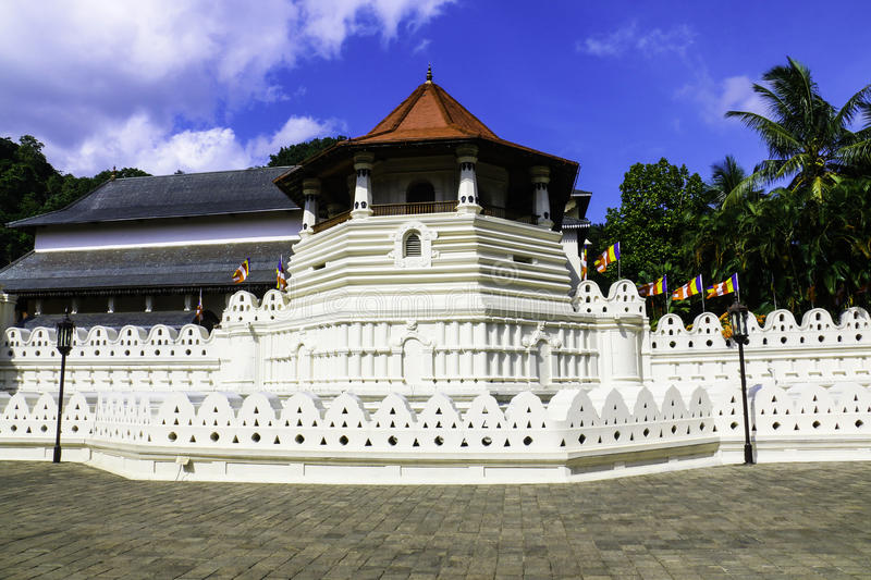 Temple Of The Sacred Tooth Relic, Kandy Sri Lanka. Temple Of The Sacred Tooth Relic, That Is Located In The Royal Palace Complex Of The Former Kingdom Of Kandy royalty free stock photography
